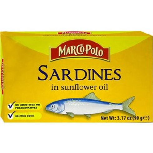 Marco Polo Sardines In Oil 90g