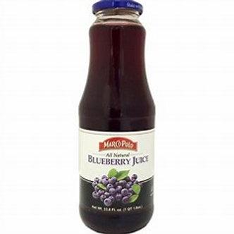 MARCO POLO Blueberry Juice 1L(33.8oz) bottle