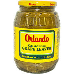 ORLANDO Vine Leaves 16oz (dr. wt.) jar