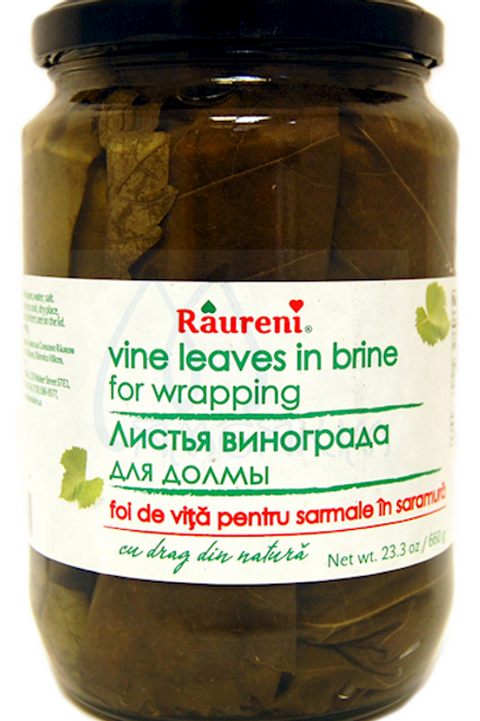 VINE LEAVES RAURENI 660G