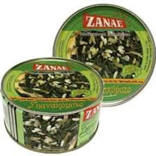 ZANAE Spinach & Rice 280g tin