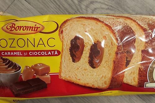 COZONAC cu crema caramel si ciocolata 450 g