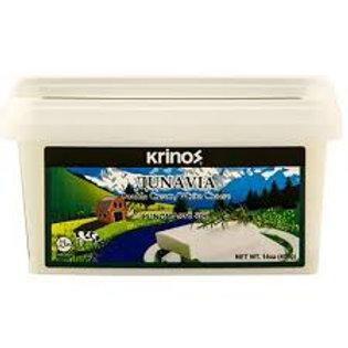 KRINOS Dunavia Creamy Cheese 400g tub