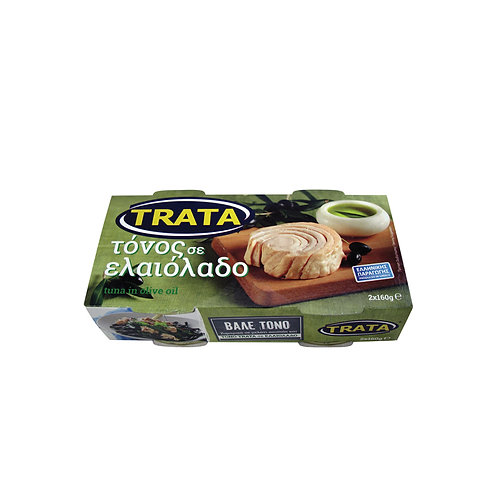 Trata tuna packed in olive oil 2 pack 320g