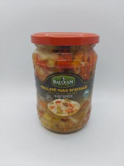 Balkan mix salad 580 gr jar
