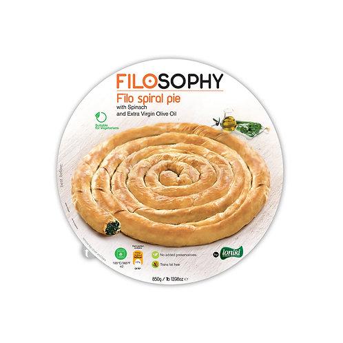 Filosophy spinach spiral pie 850g