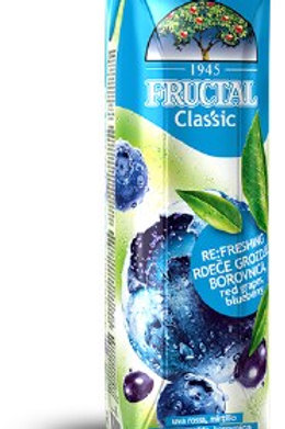 Fructal Classic Blueberry Juice 1L