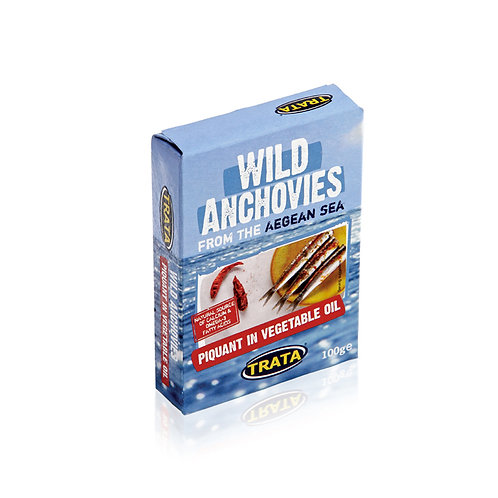 Trata anchovies in piquant oil