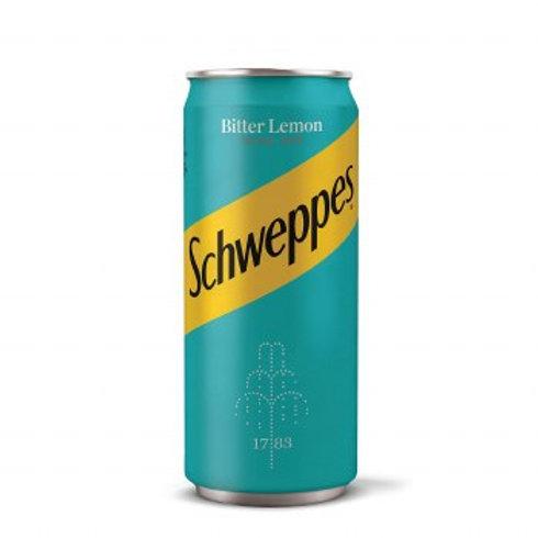 Schweppes Bitter Lemon Carbonated Soda 330ml