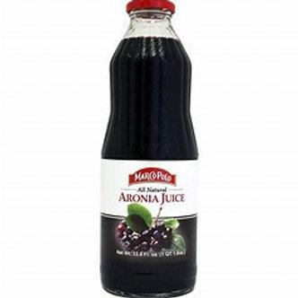 MARCO POLO Aronia Juice 1L(33.8oz) bottle