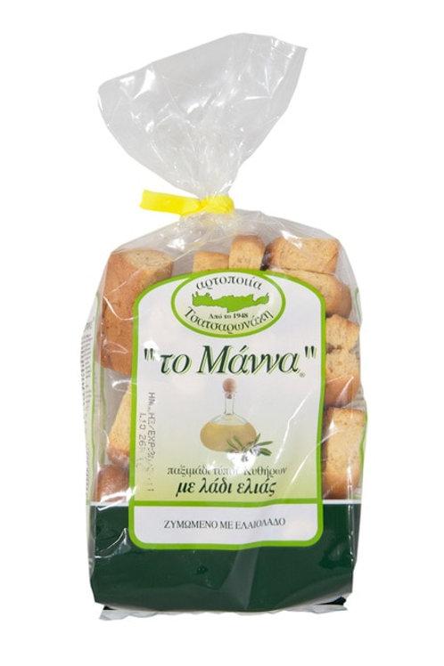 Tsatsaronakis wheat toast with olive oil (kithiron) 500 g