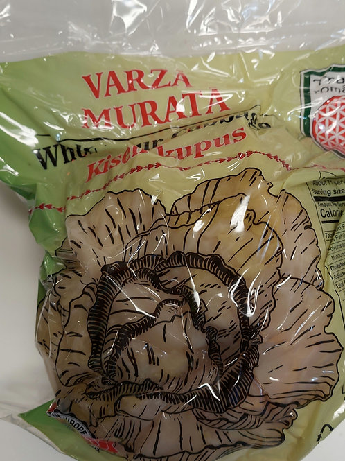 Varza Murata. (Whole pickle cabbage) 4 lb