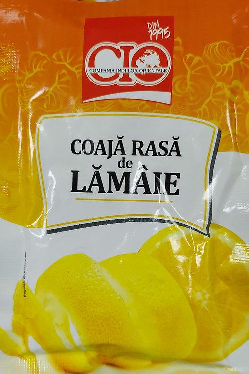 Coaja rasa de lamaie 10 g
