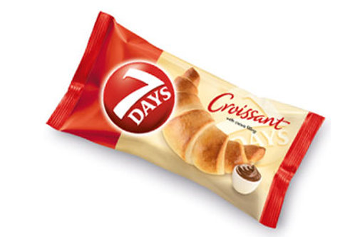 7 Days Chocolate Croissant package of 6