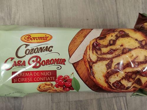 COZONAC crema de nuci si cirese 550 g