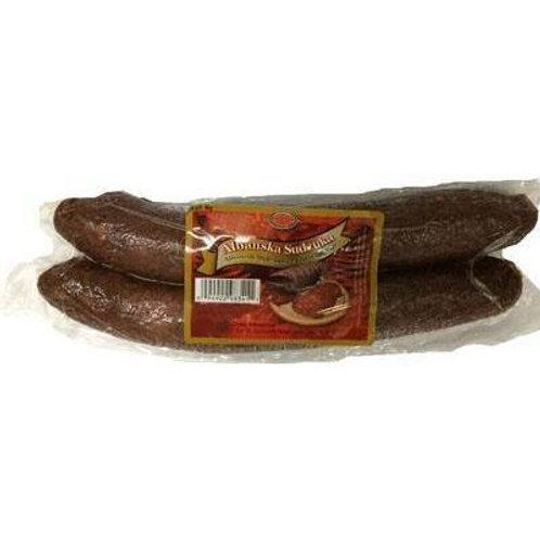 Brother & Sister Albanian Beef Sausage (Albanian Suxhuk) 1lb,1.2lb,1.5lb