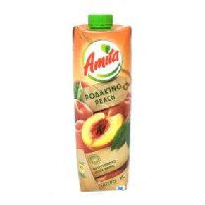 AMITA Peach Juice 1L tetra pak