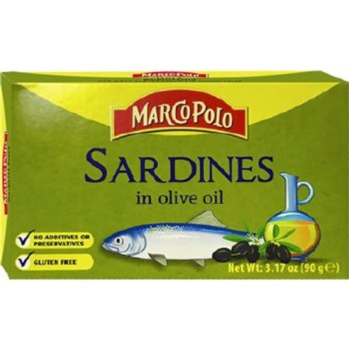 Marco Polo Sardines In Olive Oil 90g