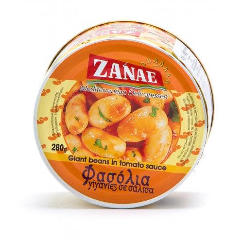 ZANAE Butter Beans in Sauce 280g tin