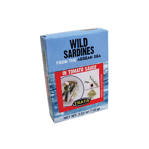 Trata sardines in tomato sauce