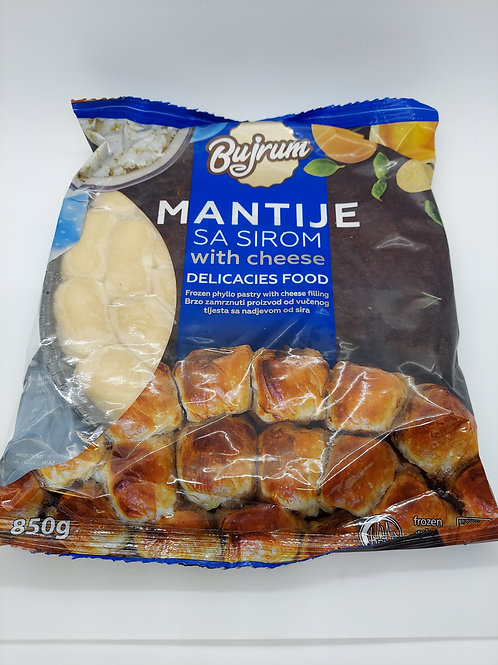 Mantije with cheese 850g