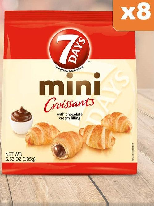 7Days Mini Croissants, Chocolate Filling 185 gr