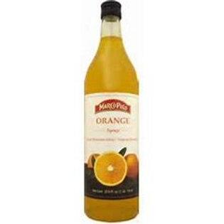 MARCO POLO Orange Syrup 1L (33.8oz) bottle