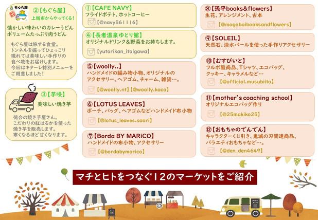 【11/14開催】第6回キターレの日。出店者ご紹介