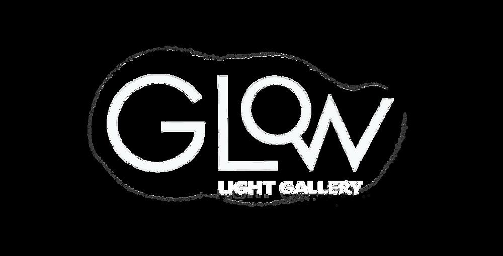 Glow lighting gallery in Airport City, Israel