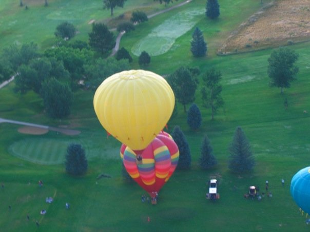 Two Balloons from Air