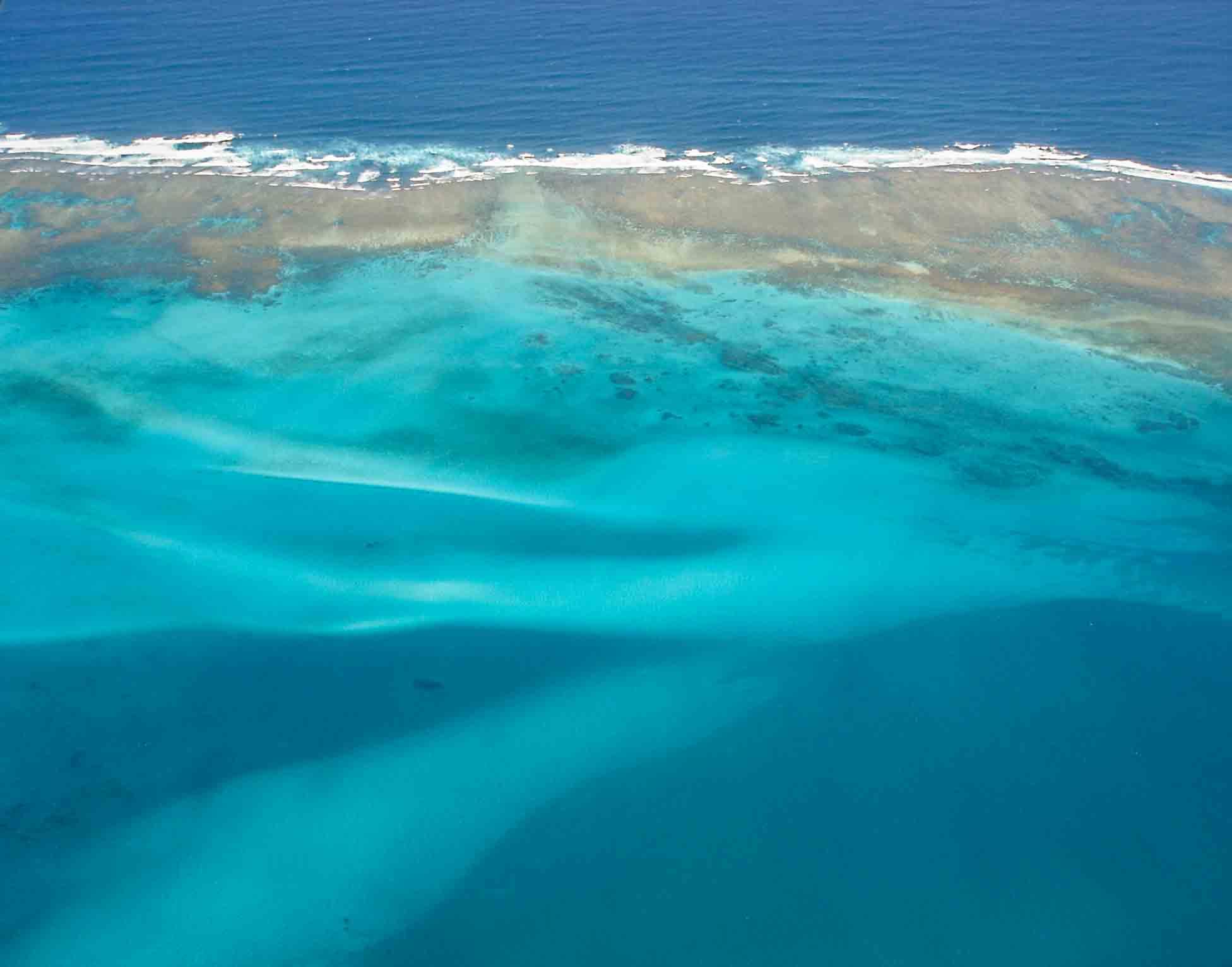 Aerial shot of Ninagaloo