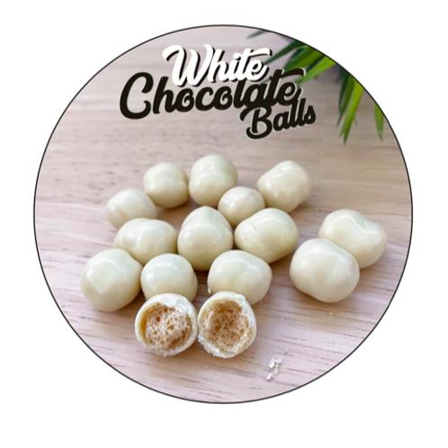 Dieet Maltesers - White Chocolate balls