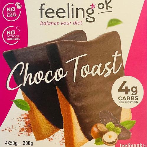Feeling OK toast choco (8 stuks)