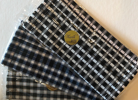Plaid Masks (complimentary with KES logo mask purchase)