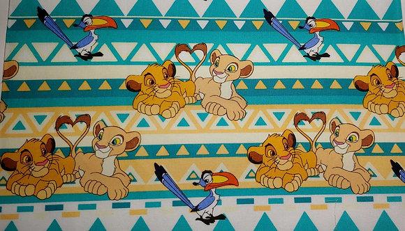 Lion King. Pattern 2. Kid size