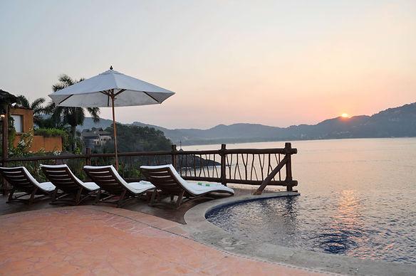 sunrise poolside villa bahia zihuatanejo mexico