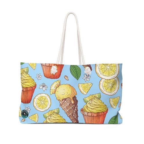 Ice Cream La Ropa Beach Bag