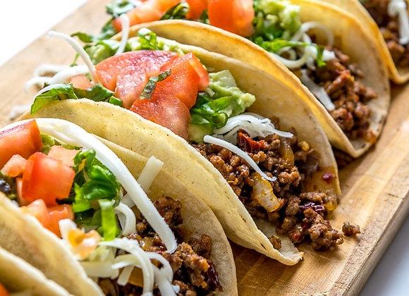 Ground Beef Taco Bar Meal