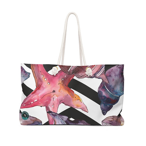 Coral Shells La Ropa Beach Bag