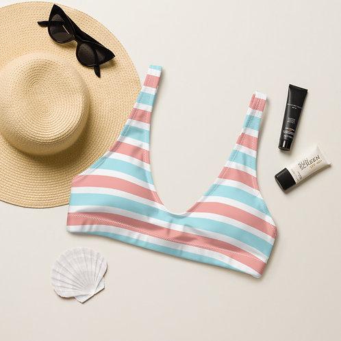 Pinklue Stripes Playa Perfect Bikini