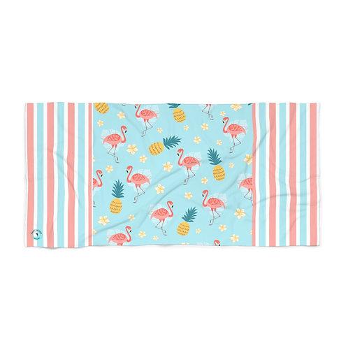 Pinklue Beach Towel