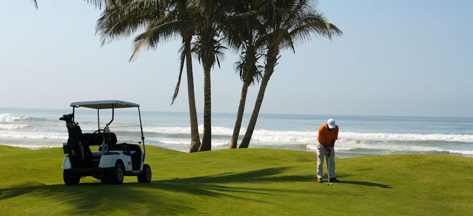 golf at Palma Real ixtapa mexico