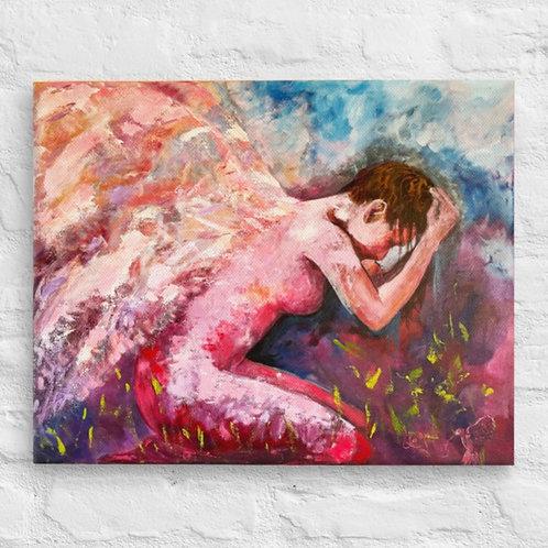 Delirio Reproduction on Canvas