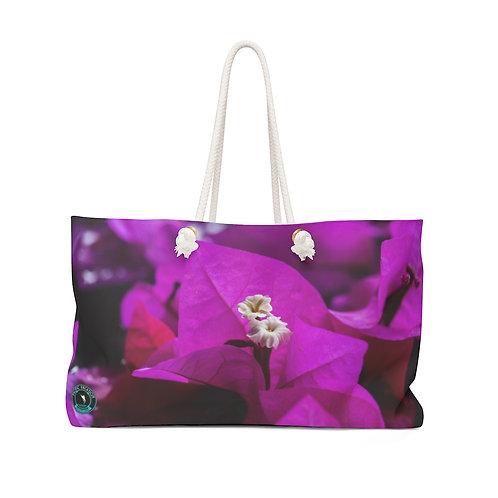 Purple Bougainvillea La Ropa Beach Bag