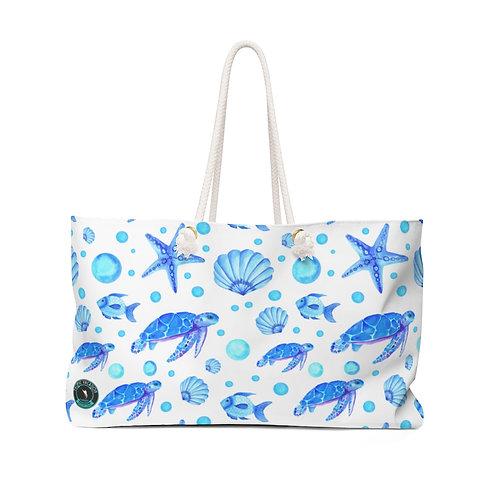 Blue Sea Turtles La Ropa Beach Bag