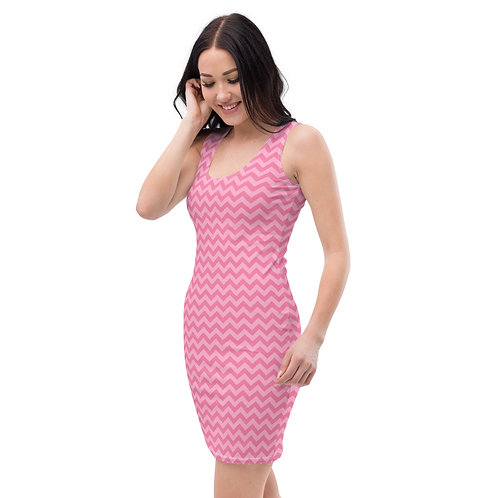Pink Zag Calle Dress