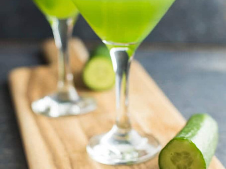 Cucumber Martinis | So Refreshing So Perfect!