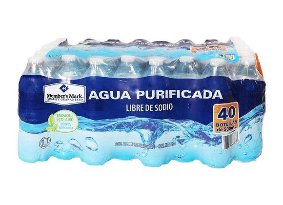 Water Member's Mark 40 count 16ozl