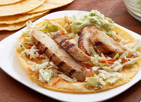 Chicken Taco Bar Meal