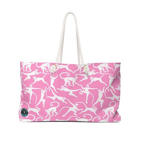 Chasing Pink Monkeys La Perla La Ropa Beach Bag